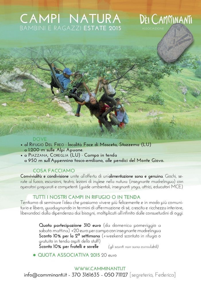 Campi Natura 2015