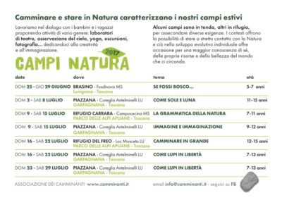 Campi Natura 2017