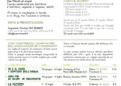 Campi Natura 2019